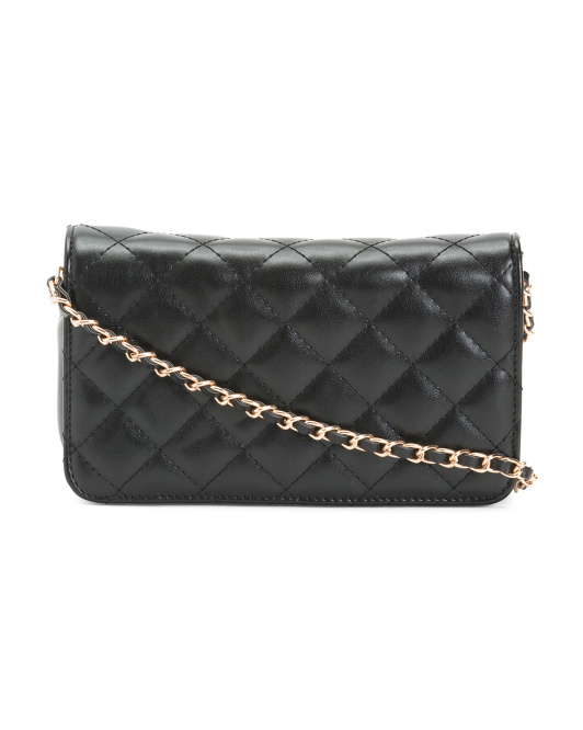 Elyse Quilted Crossbody