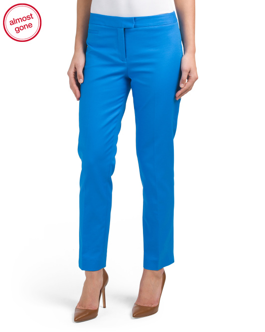Double Weave Slim Pants