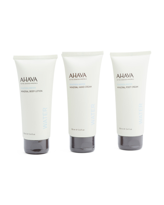 Made In Israel Mineral Body Cream Trio Set
