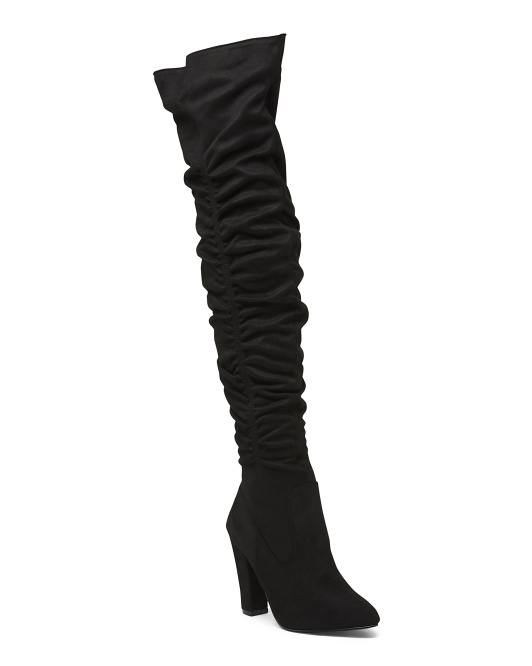 Slouchy High Shaft Boots