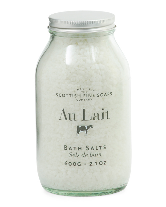 Made In Scotland Au Lait Bath Salts