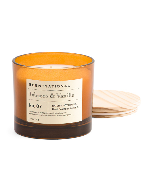 Made In USA 26oz Apothecary Candle