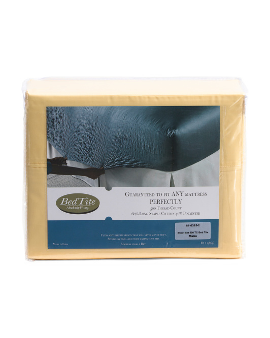 4pc 500tc Sheet Set