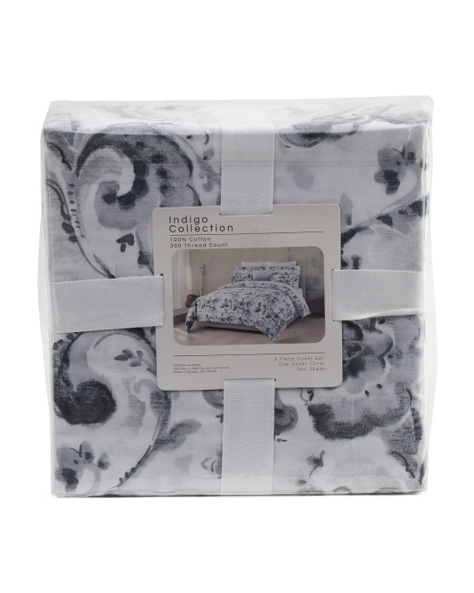 3pc 300tc Madelene Duvet Set
