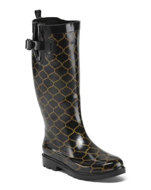 High Shaft Rainboots