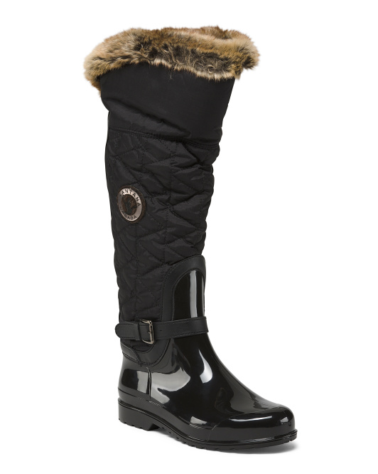High Shaft Snow Boots