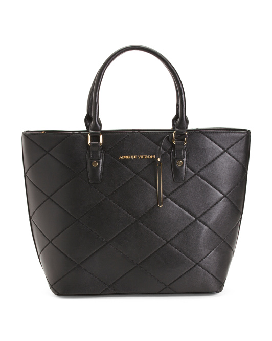 Quilted Laptop Tote