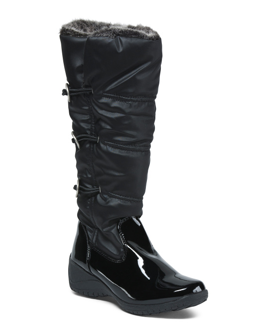 Wide Calf Cold Weather Boots
