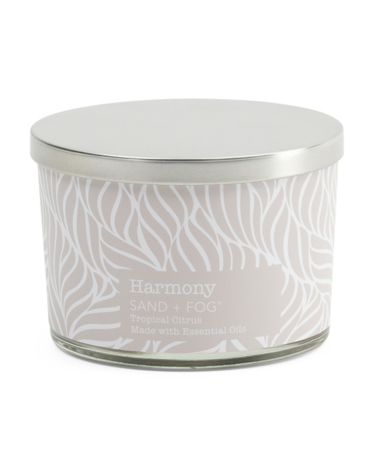 12oz Harmony Spa Candle With Metal Lid