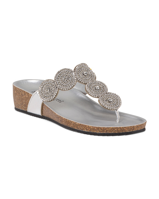 Made In Italy Bling Sandals