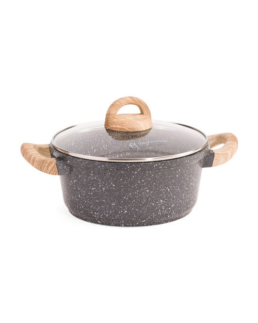 3qt Specked Saucepan With Lid
