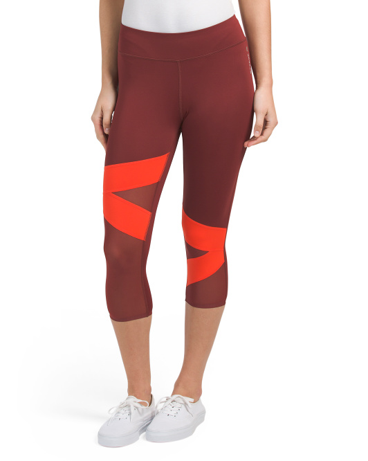 Color Block Capris