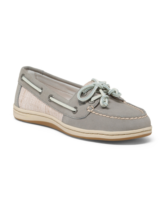 Fashion Leather Boat Shoes
