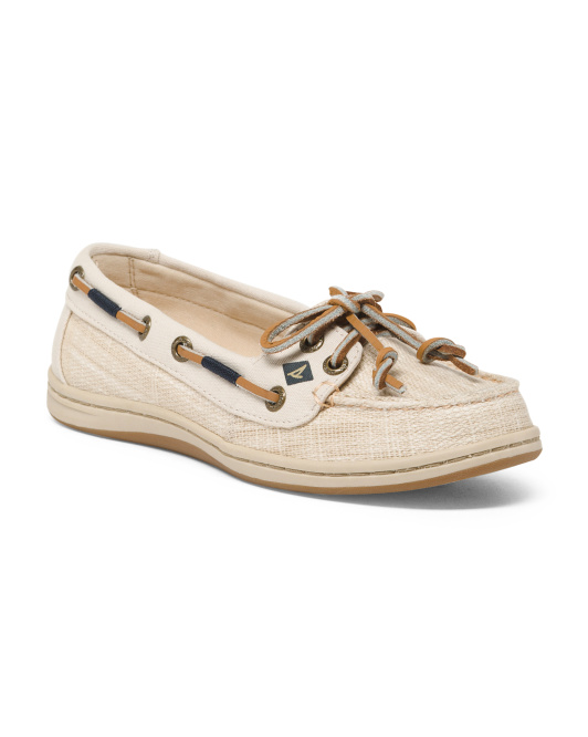 Lightweight Canvas Boat Shoes