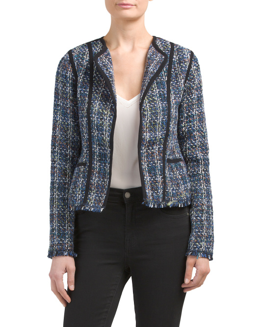 Juniors Tweed Jacket