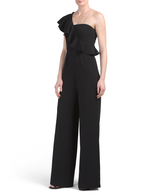 One Shoulder Meereen Jumpsuit