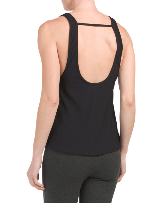 Drapey Open Back Tank