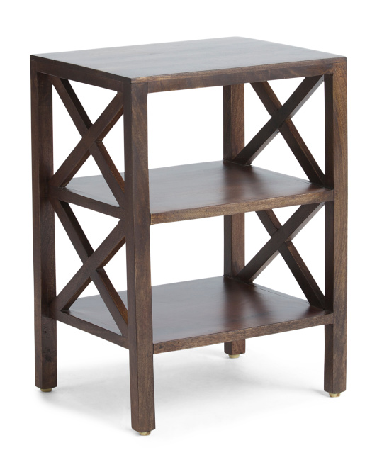 Made In India Solid Mango Side Table