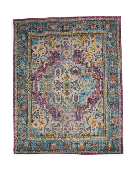Made In Turkey 8x10 Medallion Rug
