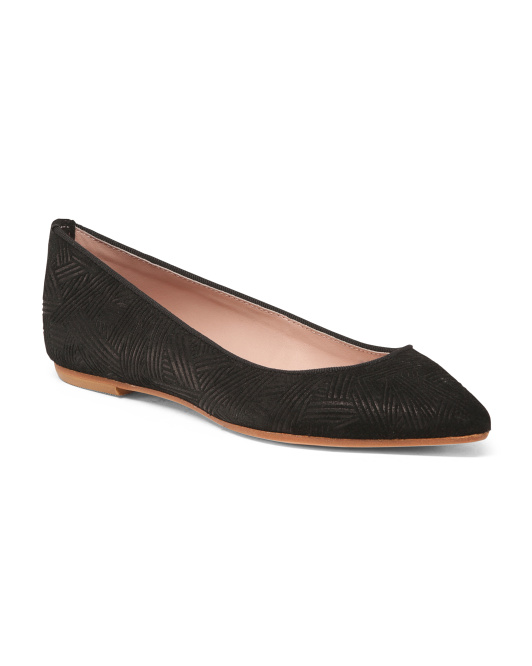 Made In Italy Pointy Toe Flats