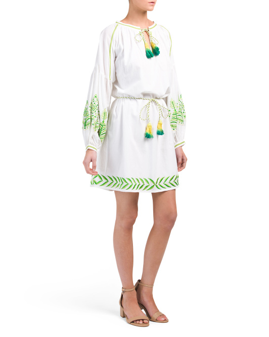 Embroidered Isabel Dress