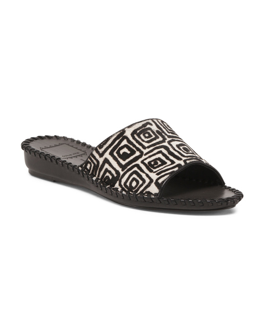 Haircalf Slide Sandals