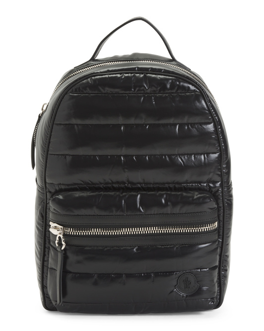 Luxury Quilted Backpack