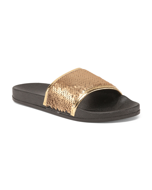 Reversible Sequin Slides