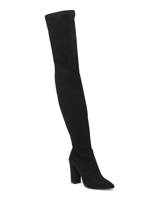 Pointy Toe Over The Knee Boots