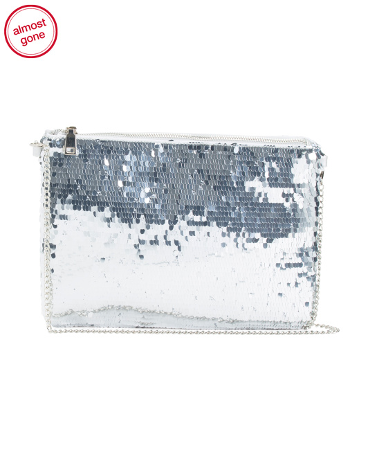 All Over Payettes Evening Bag