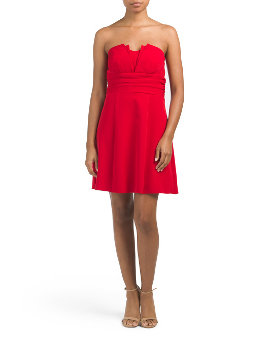 Made In USA Strapless Dress
