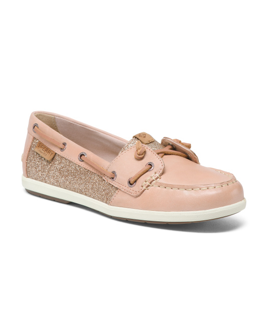 Coil Ivy Glitter Boat Shoes