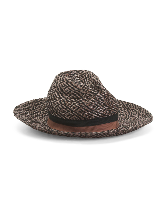 Made In Italy Wide Brim Hat