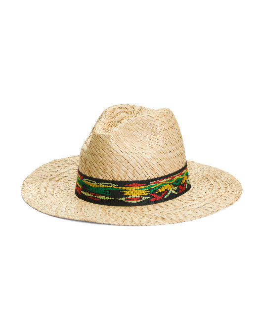 Made In Italy Indiana Jones Straw Hat