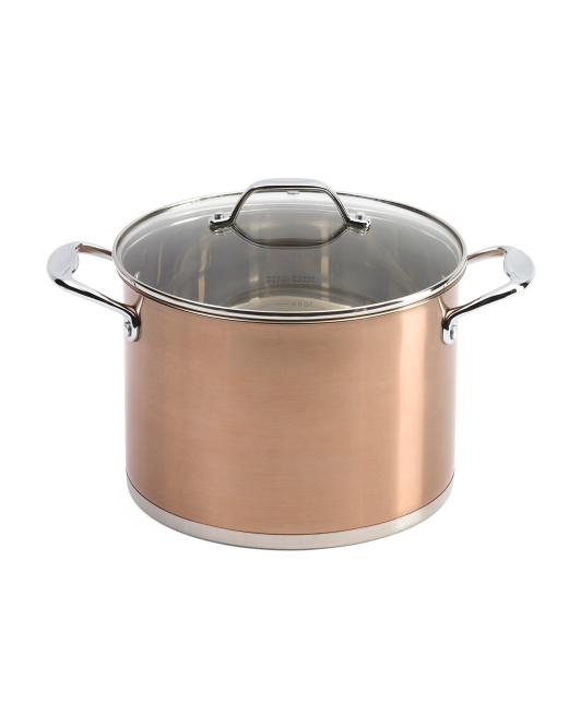 8qt Stainless Steel Stock Pot