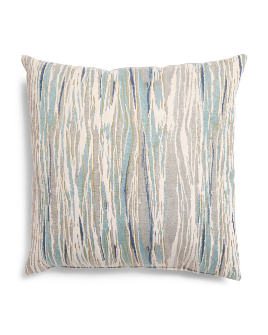 Made In USA 22x22 Ocean Pattern Pillow