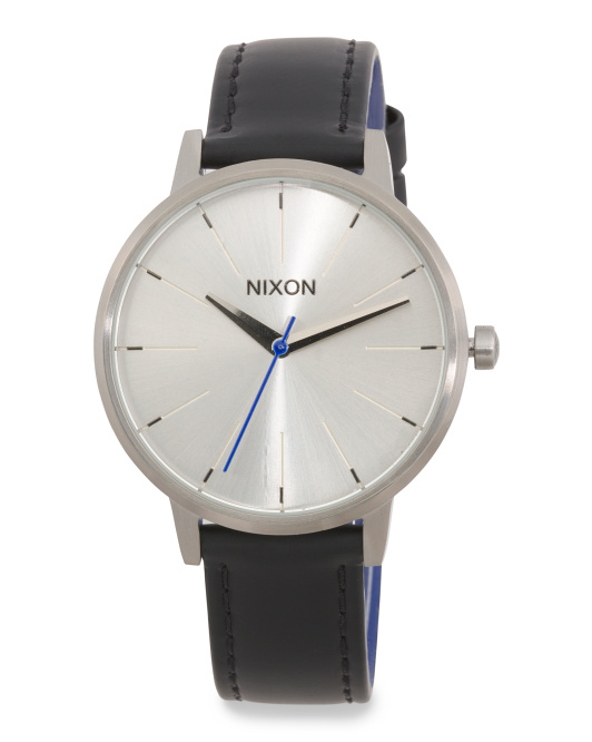 Kensington Leather Strap Watch