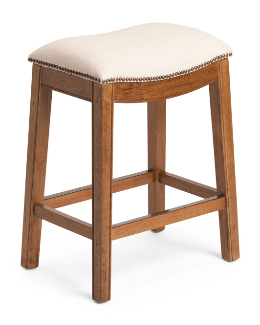 Austin Counterstool With Nailheads