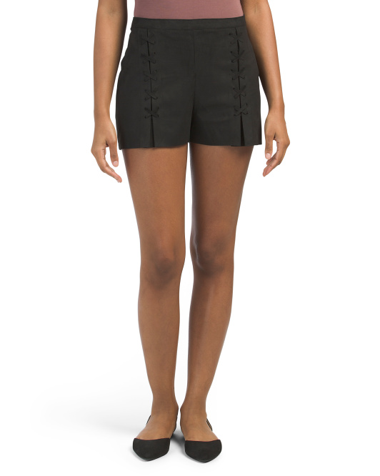 Julien Laced Front Shorts
