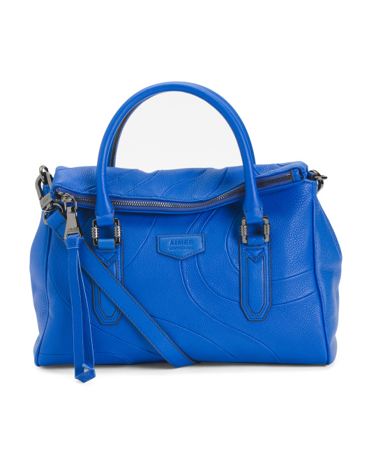 Xander Glove Leather Satchel