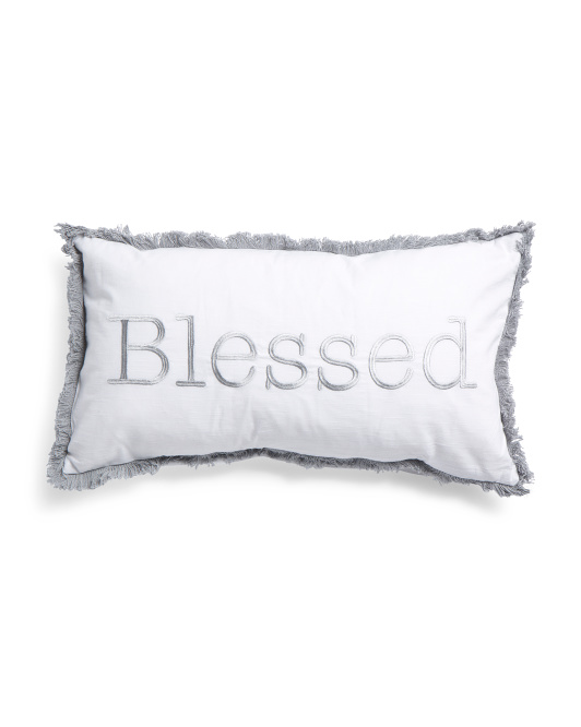 Made In India 14x26 Blessed Pillow