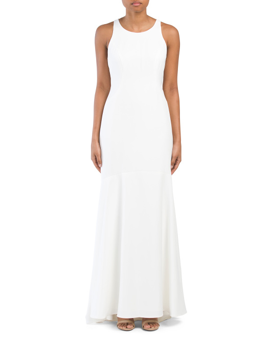 Long Sleeveless Gown