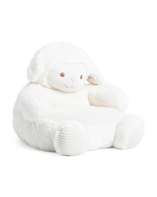 Plush Lamb Baby Chair