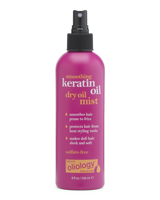 Dry Oil Mist With Keratin Oil