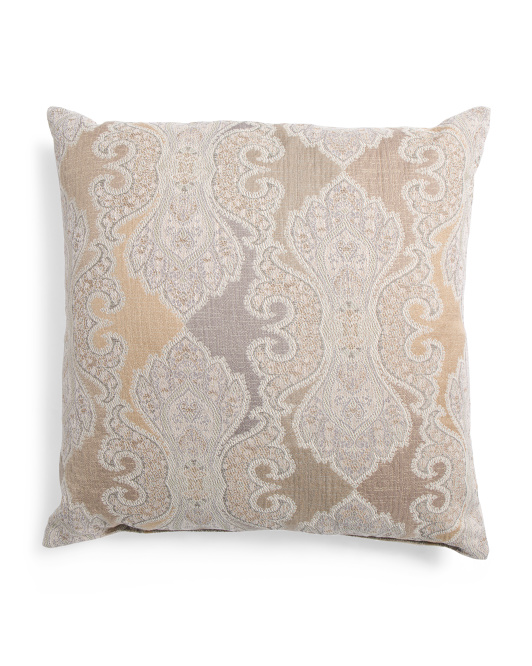 Made In USA 24x24 Oversized Medallion Pillow