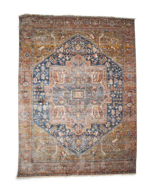Made In Turkey Vintage Style Area Rug