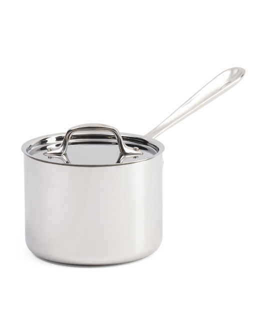 Made In USA 2qt Stainless Steel Sauce Pan