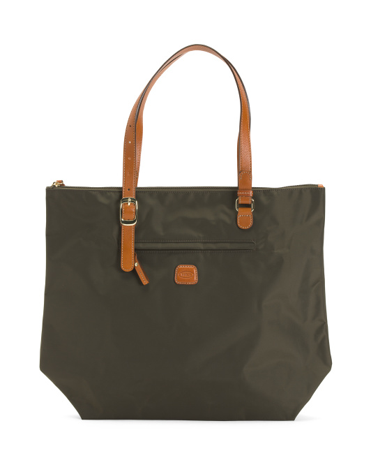 Leather Straps Large Sportina Bag