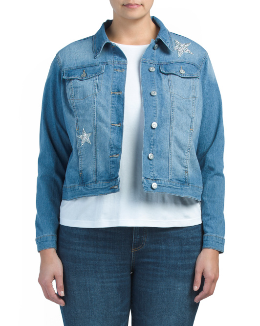 Plus Jean Star Jacket