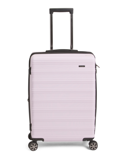 24in Expandable Spinner Suitcase